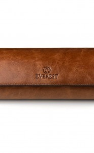 Everest 3 Watch Roll Antique Brown