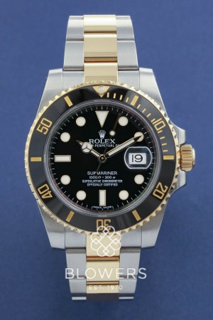 Rolex Bi-Metal Submariner Date 116613LN