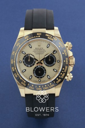 Rolex 18ct Yellow Gold Oyster Perpetual Cosmograph Daytona 116518LN