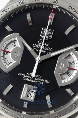 Steel Tag Heuer Grand Carrera CAV511G