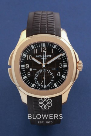 Patek Philippe Aquanaut Travel Time.Ref 5164R-001