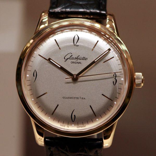 glasshute original watch history