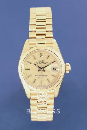 18ct Yellow Gold Rolex Oyster Perpetual Datejust 69178