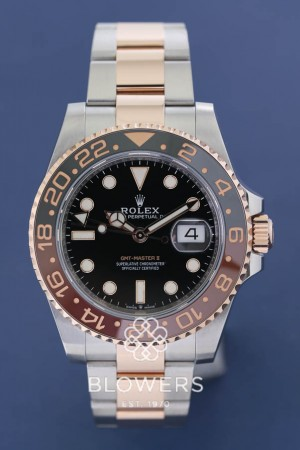 Rolex GMT-Master II model reference 126711CHNR