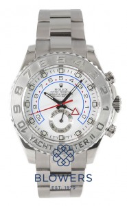 Rolex 18ct White gold Oyster Perpetual Yacht-Master II Regatta Chronograph 116689