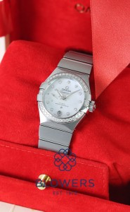 Omega Ladies Constellation Petite Second 127.15.27.20.55.001