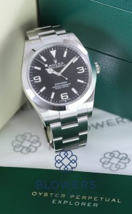 Rolex Oyster Perpetual Explorer 214270