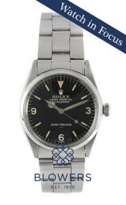 Vintage Rolex Explorer 5500