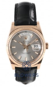 Rolex Oyster Perpetual Day-Date 118135