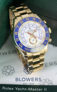 Rolex 18ct Yellow Gold Oyster Perpetual Yacht-Master II