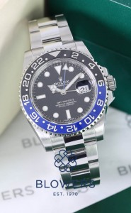 Rolex Oyster Perpetual GMT-Master II model reference 116710BLNR