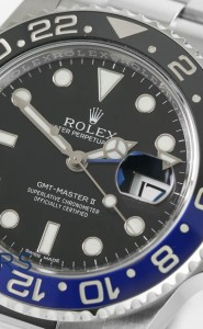 Rolex GMT-Master II model reference 116710BLNR