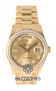 Rolex Oyster Perpetual Day-Date 118348