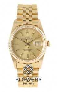 Rolex Oyster Perpetual Datejust 16018