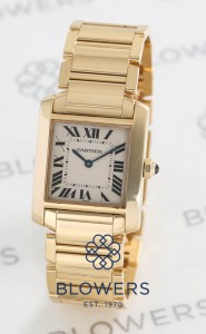 Cartier Tank Francaise W50003N2 Mid-sized