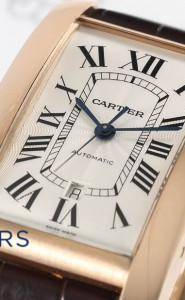 Cartier 18ct Rose gold Tank Americaine W2609856