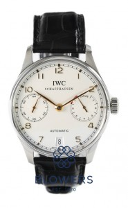 IWC Steel Portuguese Automatic 7 day IW5001-14