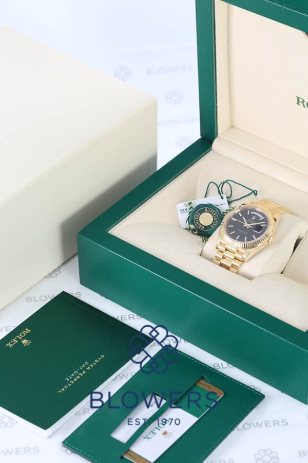 Rolex 18ct Yellow Gold Rolex Oyster Perpetual Day-Date 228238