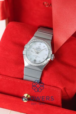 Omega Ladies Constellation Petite Seconde 127.15.27.20.55.001