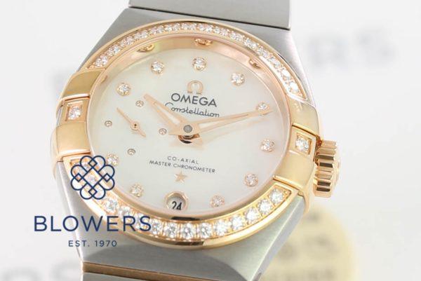 Omega Ladies Constellation Petite Seconde 127.25.27.20.55.001