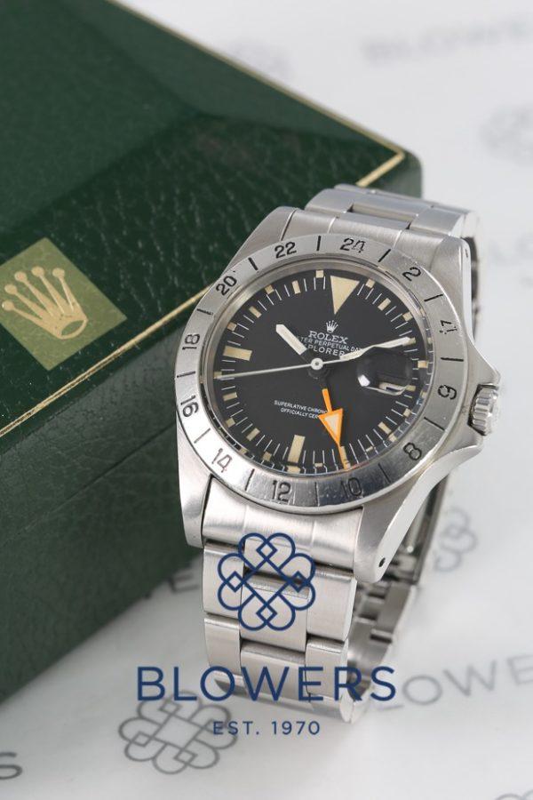 """Rolex Oyster Perpetual Date Explorer II 1655 """"Steve McQueen""""."""