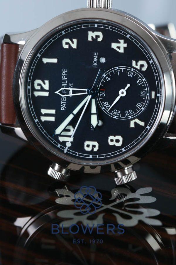 Patek Philippe Pilot Travel Time 5524G–001.