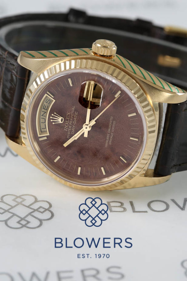 Rolex 18ct Yellow Gold Oyster Perpetual Day-Date 18038
