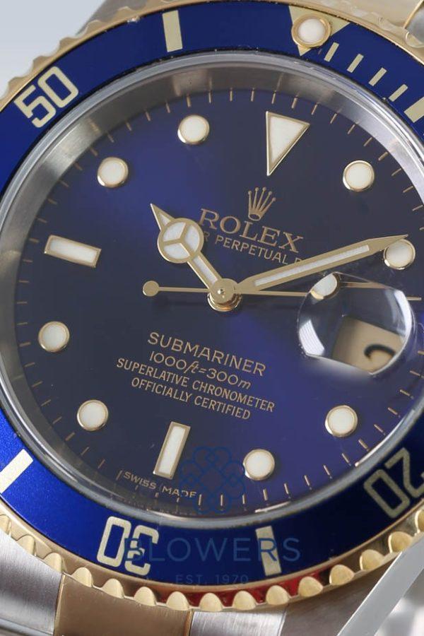 Rolex Bi-Metal Submariner Date 16613.