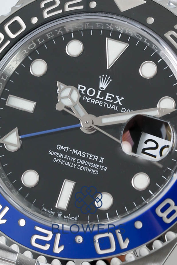 Rolex Oyster Perpetual GMT-Master II 126710BLNR