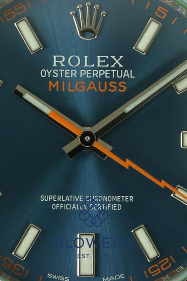Rolex Oyster Perpetual Milgauss Anniversary Edition 116400GV