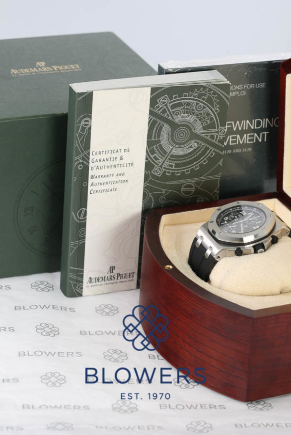 Audemars Piguet Royal Oak Offshore Chronograph Reference 26020ST.OO.D001IN.01