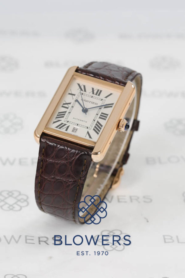 Cartier Rose Gold Tank Solo W5200025