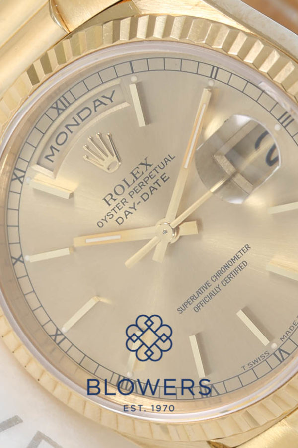 Rolex Oyster Perpetual Day-Date 118238.
