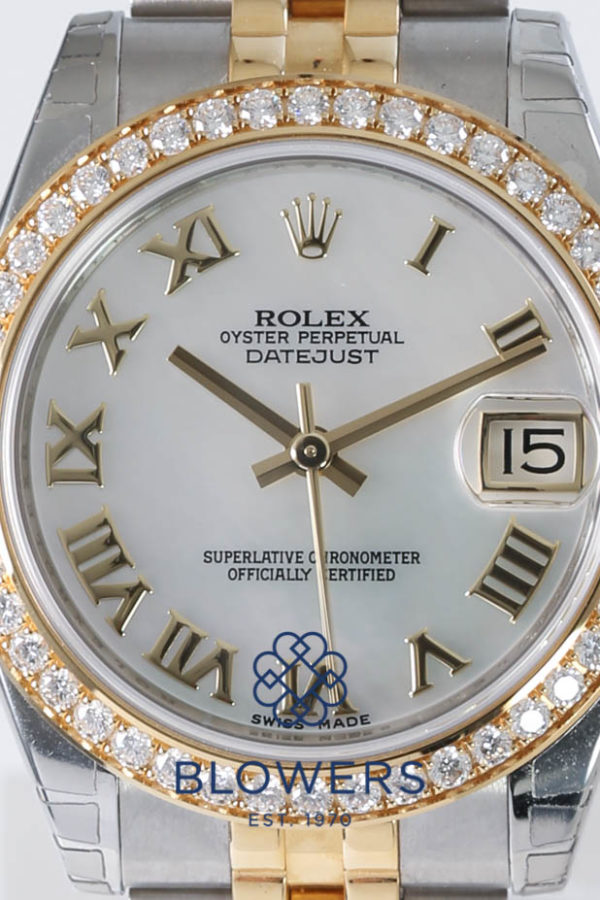 Rolex Oyster Perpetual Mid-size Datejust 178383