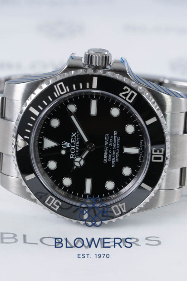 Rolex Oyster Perpetual Submariner Non Date 114060.
