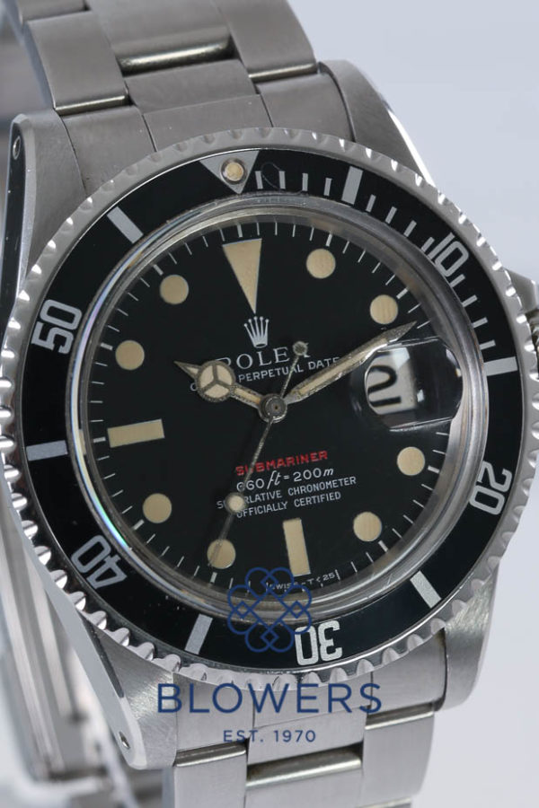 Rolex Oyster Perpetual Red Submariner Ref 1680