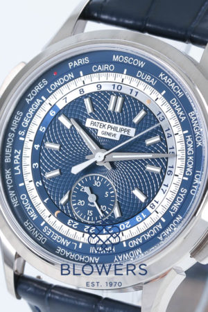 Patek Philippe World Time Chronograph Ref: 5930G-001