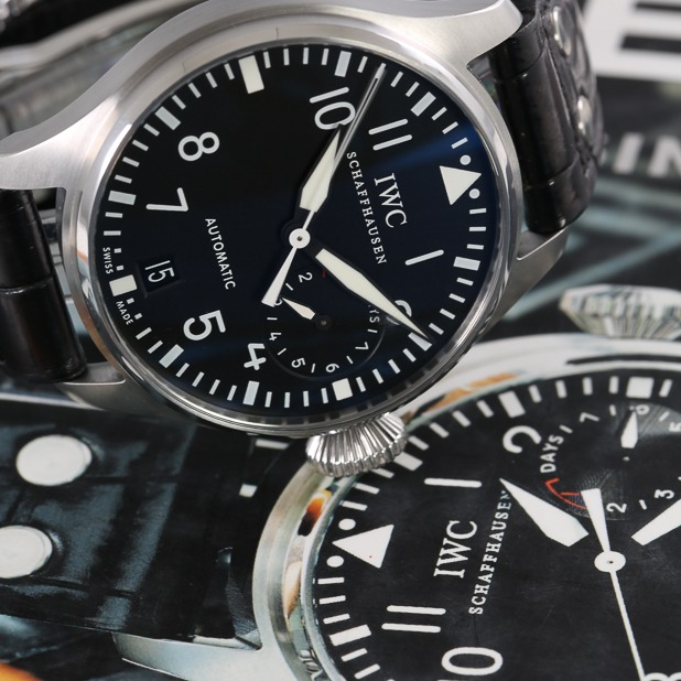 IWC watch feature
