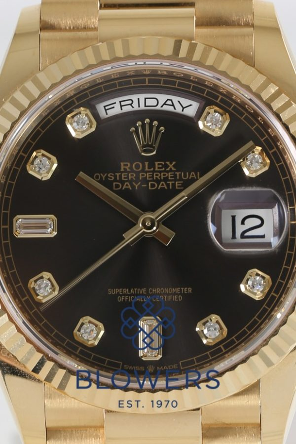 Rolex Oyster Perpetual Day-Date 128238