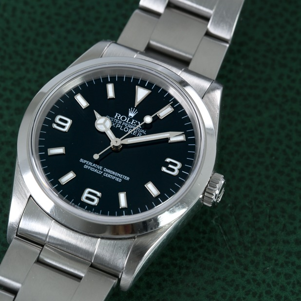 Rolex OP Explorer feature