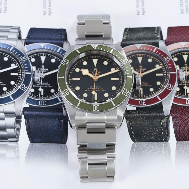 collection of tudor watches feature