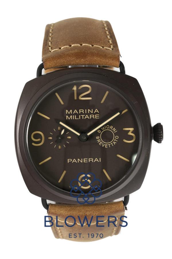 """Panerai Radiomir Composite Marina Militare 8-Days """"Giorni Brevettato"""" PAM 00339"""
