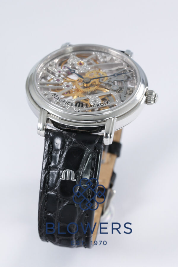 Maurice Lacroix Masterpiece Skeleton MP6258-SS001-000