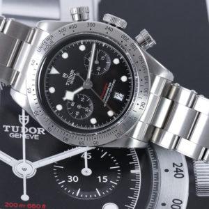 tudor wristwatch feature