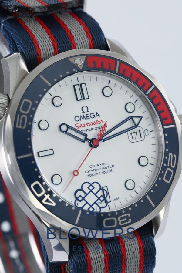 Omega Seamaster Diver 300M Commander's Watch 212.32.41.20.04.001.