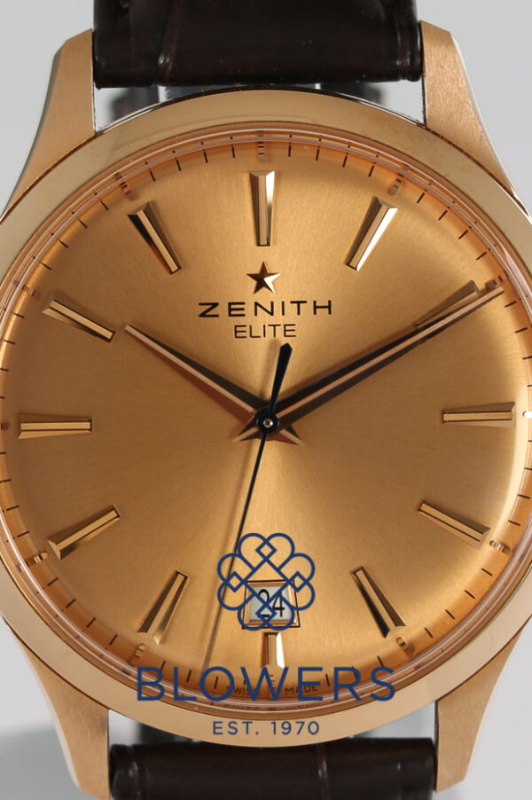 Zenith Captain central Second 18.2020.670