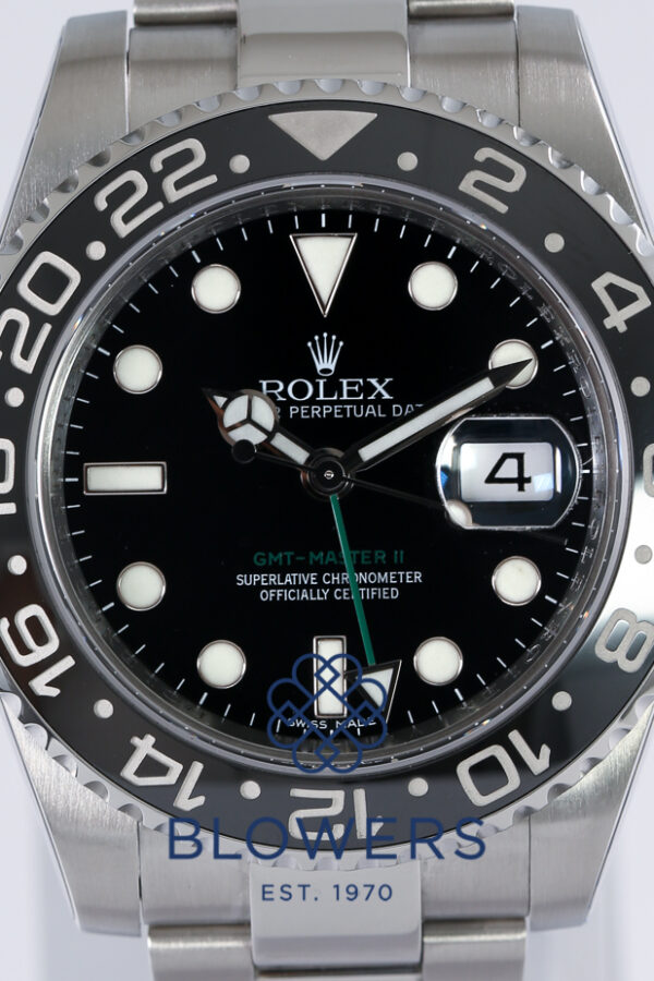 Rolex Oyster Perpetual GMT-Master II Ref 116710LN