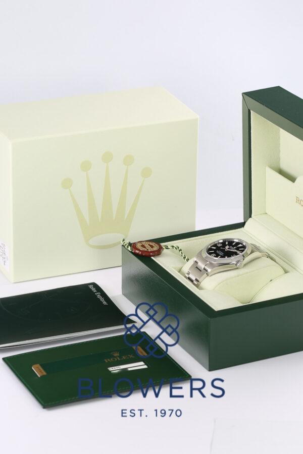 Rolex Oyster Perpetual Explorer Ref 214270