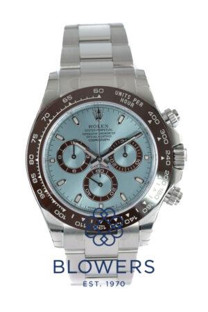 Rolex Cosmograph Platinum Daytona 116506