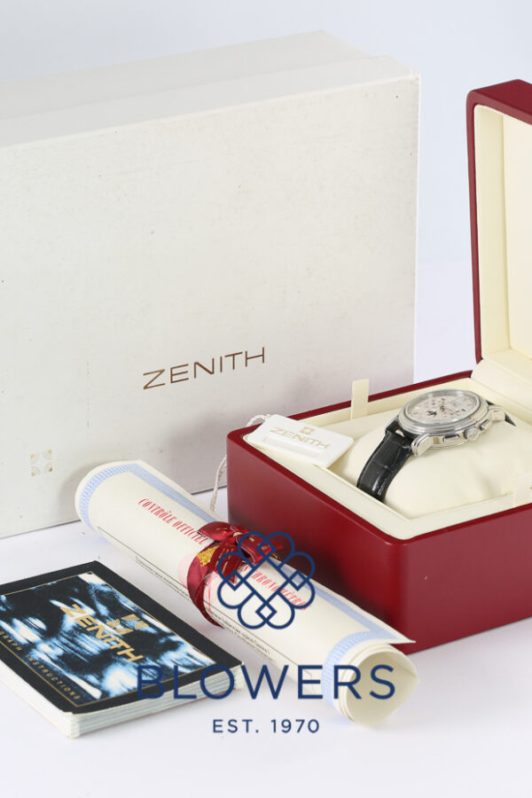 Zenith El Primero Chronograph Moonphase 01.240.410